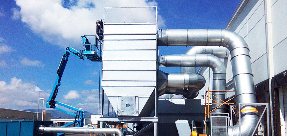 Extracción y Filtración para la Industria Automotriz