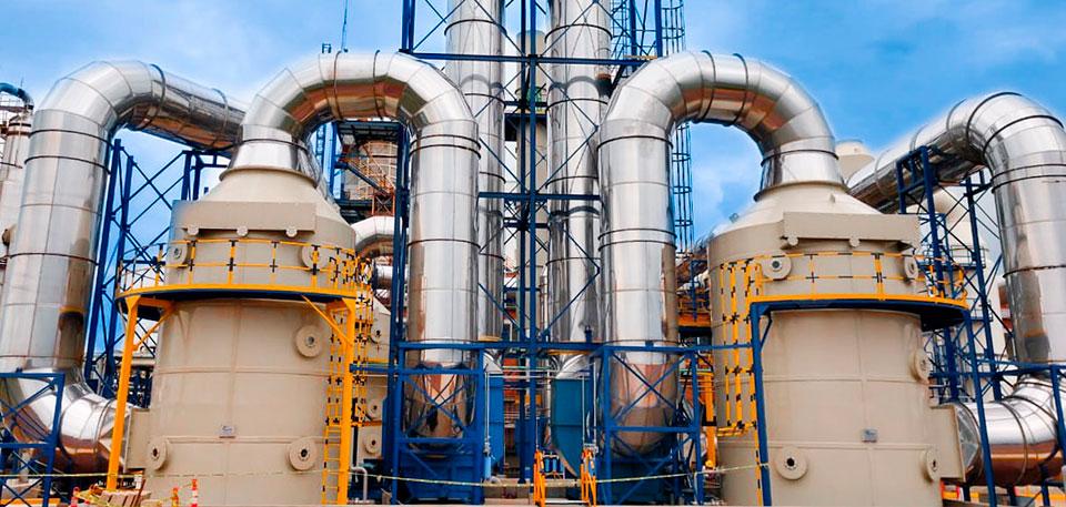 filtración de gases