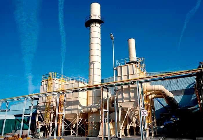 Sistema colector de humo para extracción y filtración del aire