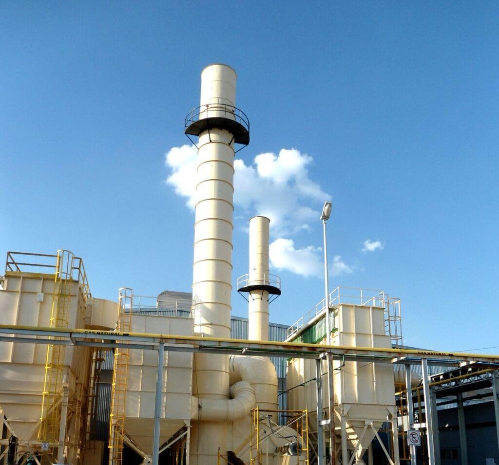 sistema de extracción de humos, colector de humo