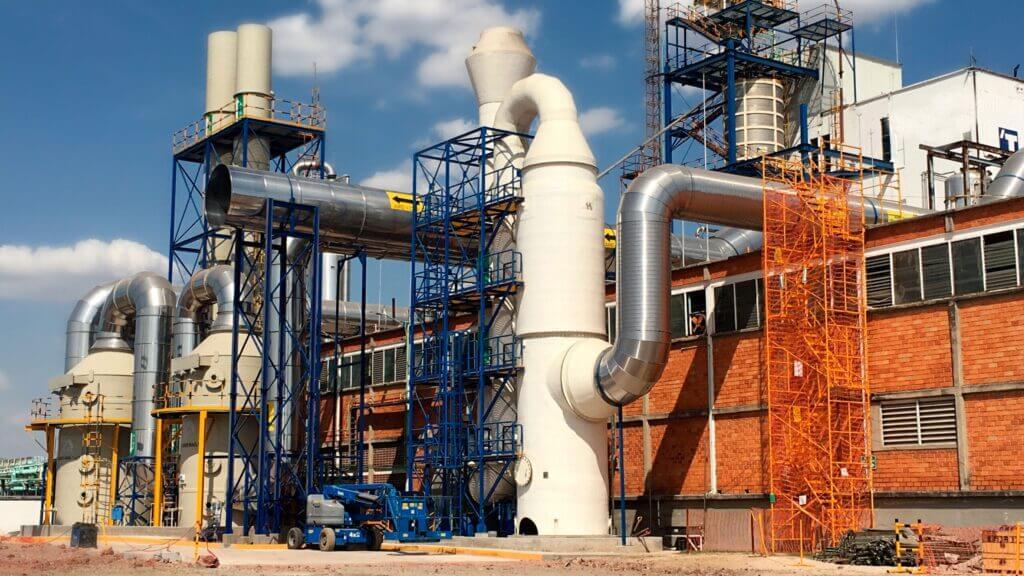 scrubber lavador gases industriales