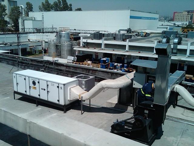 aire lavado industrial